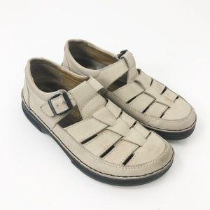 Birkenstock Footprint Closed Toe Sandals Shoes 40